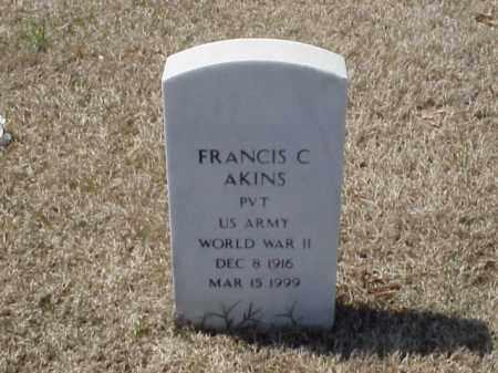 ATKINS (VETERAN WWII), FRANCIS C - Pulaski County, Arkansas | FRANCIS C ATKINS (VETERAN WWII) - Arkansas Gravestone Photos
