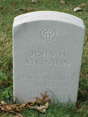 ATKINSON (VETERAN KOR), JOHN H - Pulaski County, Arkansas | JOHN H ATKINSON (VETERAN KOR) - Arkansas Gravestone Photos