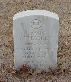 ATTEBERRY  (VETERAN WWI), JAMES - Pulaski County, Arkansas | JAMES ATTEBERRY  (VETERAN WWI) - Arkansas Gravestone Photos
