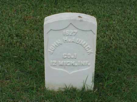 AUMICK (VETERAN UNION), JOHN H - Pulaski County, Arkansas | JOHN H AUMICK (VETERAN UNION) - Arkansas Gravestone Photos