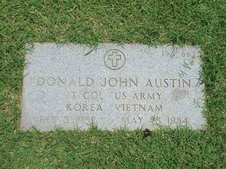 AUSTIN (VETERAN 2WARS), DONALD JOHN - Pulaski County, Arkansas   DONALD JOHN AUSTIN (VETERAN 2WARS) - Arkansas Gravestone Photos