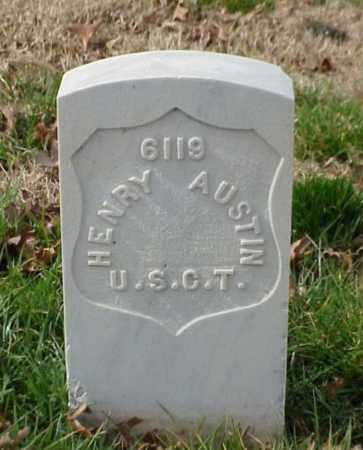 AUSTIN (VETERAN UNION), HENRY - Pulaski County, Arkansas   HENRY AUSTIN (VETERAN UNION) - Arkansas Gravestone Photos