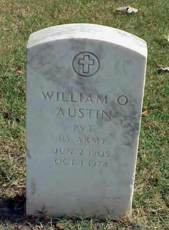 AUSTIN (VETERAN), WILLIAM O - Pulaski County, Arkansas | WILLIAM O AUSTIN (VETERAN) - Arkansas Gravestone Photos