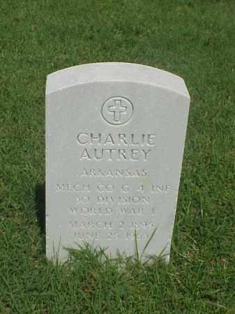 AUTREY (VETERAN WWI), CHARLIE - Pulaski County, Arkansas   CHARLIE AUTREY (VETERAN WWI) - Arkansas Gravestone Photos