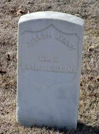 AVANT (VETERAN UNION), JOSEPH - Pulaski County, Arkansas | JOSEPH AVANT (VETERAN UNION) - Arkansas Gravestone Photos