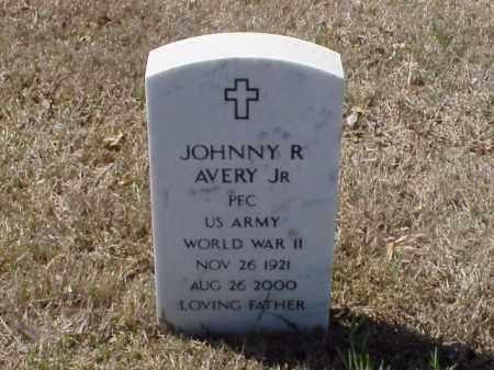 AVERY, JR  (VETERAN WWII), JOHNNY R - Pulaski County, Arkansas | JOHNNY R AVERY, JR  (VETERAN WWII) - Arkansas Gravestone Photos