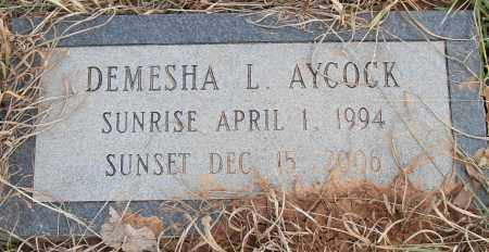 AYCOCK, DEMESHA L - Pulaski County, Arkansas | DEMESHA L AYCOCK - Arkansas Gravestone Photos