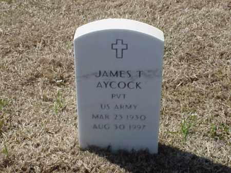 AYCOCK (VETERAN), JAMES T - Pulaski County, Arkansas | JAMES T AYCOCK (VETERAN) - Arkansas Gravestone Photos