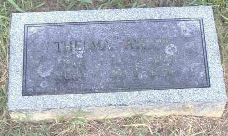 AYCOX, THELMA - Pulaski County, Arkansas | THELMA AYCOX - Arkansas Gravestone Photos