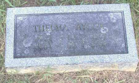 AYCOX, THELMA - Pulaski County, Arkansas | THELMA AYCOX - Arkansas Gravestone Photos