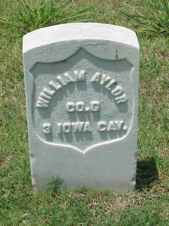 AYLOR (VETERAN UNION), WILLIAM - Pulaski County, Arkansas | WILLIAM AYLOR (VETERAN UNION) - Arkansas Gravestone Photos