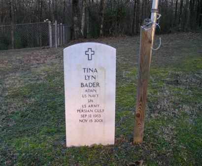 BADER  (VETERAN PGW), TINA LYN - Pulaski County, Arkansas | TINA LYN BADER  (VETERAN PGW) - Arkansas Gravestone Photos