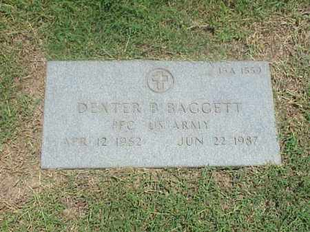 BAGGETT (VETERAN), DEXTER B - Pulaski County, Arkansas | DEXTER B BAGGETT (VETERAN) - Arkansas Gravestone Photos