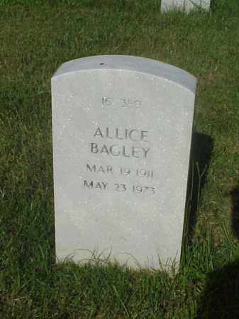 BAGLEY, ALLICE - Pulaski County, Arkansas | ALLICE BAGLEY - Arkansas Gravestone Photos