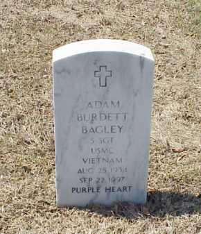 BAGLEY (VETERAN VIET), ADAM BURDETT - Pulaski County, Arkansas | ADAM BURDETT BAGLEY (VETERAN VIET) - Arkansas Gravestone Photos