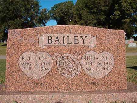 "BAILEY, E J ""LIGE"" - Pulaski County, Arkansas   E J ""LIGE"" BAILEY - Arkansas Gravestone Photos"