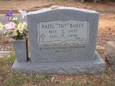 "BAILEY, HAZEL ""TOT"" - Pulaski County, Arkansas 