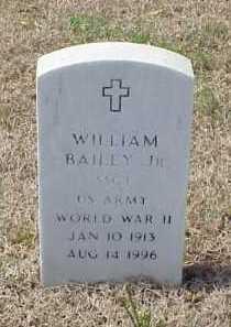 BAILEY, JR (VETERAN WWII), WILLIAM - Pulaski County, Arkansas   WILLIAM BAILEY, JR (VETERAN WWII) - Arkansas Gravestone Photos
