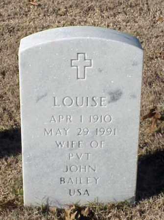 BAILEY, LOUISE - Pulaski County, Arkansas | LOUISE BAILEY - Arkansas Gravestone Photos