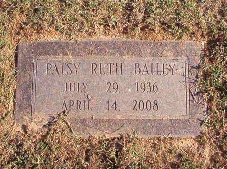 BAILEY, PATSY RUTH - Pulaski County, Arkansas | PATSY RUTH BAILEY - Arkansas Gravestone Photos
