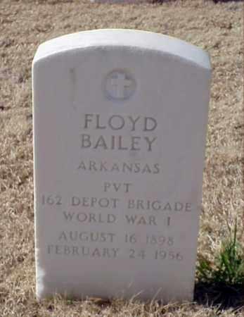 BAILEY (VETERAN WWI), FLOYD - Pulaski County, Arkansas   FLOYD BAILEY (VETERAN WWI) - Arkansas Gravestone Photos