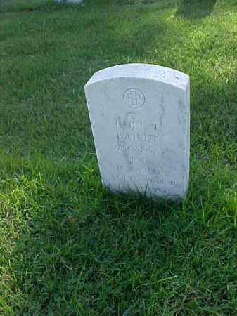 BAILEY (VETERAN WWII), RUEL T - Pulaski County, Arkansas | RUEL T BAILEY (VETERAN WWII) - Arkansas Gravestone Photos