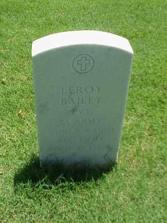 BAILEY (VETERAN WWII), LEROY - Pulaski County, Arkansas | LEROY BAILEY (VETERAN WWII) - Arkansas Gravestone Photos