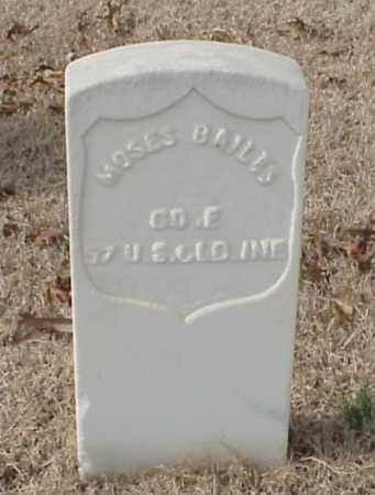BAILIS (VETERAN UNION), MOSES - Pulaski County, Arkansas | MOSES BAILIS (VETERAN UNION) - Arkansas Gravestone Photos