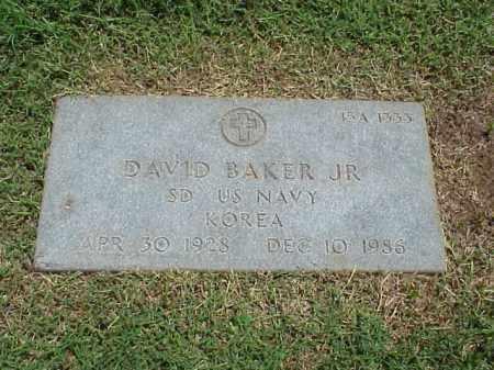 BAKER, JR (VETERAN KOR), DAVID - Pulaski County, Arkansas | DAVID BAKER, JR (VETERAN KOR) - Arkansas Gravestone Photos