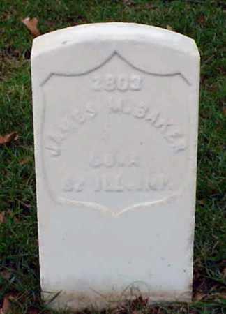BAKER (VETERAN UNION), JAMES M - Pulaski County, Arkansas | JAMES M BAKER (VETERAN UNION) - Arkansas Gravestone Photos
