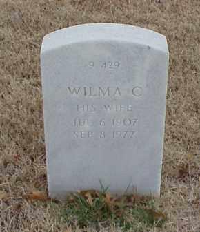 BAKER, WILMA C - Pulaski County, Arkansas | WILMA C BAKER - Arkansas Gravestone Photos