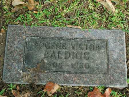 BALDING, EUGENE VICTOR - Pulaski County, Arkansas | EUGENE VICTOR BALDING - Arkansas Gravestone Photos