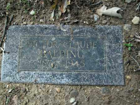BALDING, VICTOR CLAUDE - Pulaski County, Arkansas   VICTOR CLAUDE BALDING - Arkansas Gravestone Photos