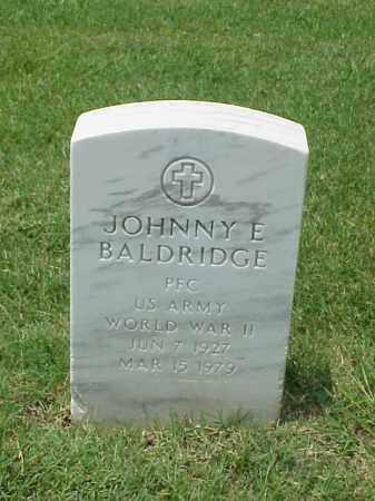 BALDRIDGE (VETERAN WWII), JOHNNY E - Pulaski County, Arkansas | JOHNNY E BALDRIDGE (VETERAN WWII) - Arkansas Gravestone Photos