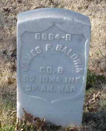BALDWIN (VETERAN SAW), JAMES P - Pulaski County, Arkansas | JAMES P BALDWIN (VETERAN SAW) - Arkansas Gravestone Photos