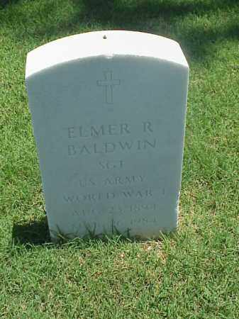 BALDWIN (VETERAN WWI), ELMER R - Pulaski County, Arkansas | ELMER R BALDWIN (VETERAN WWI) - Arkansas Gravestone Photos