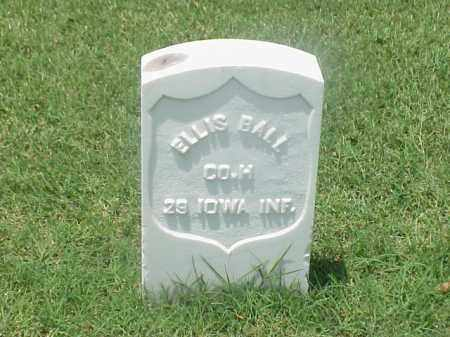 BALL (VETERAN UNION), ELLIS - Pulaski County, Arkansas | ELLIS BALL (VETERAN UNION) - Arkansas Gravestone Photos