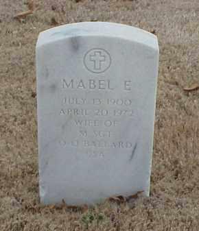 BALLARD, MABEL E - Pulaski County, Arkansas | MABEL E BALLARD - Arkansas Gravestone Photos