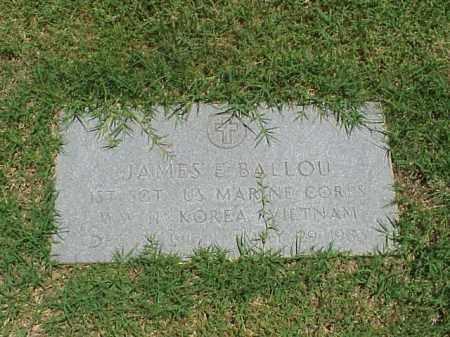 BALLOU (VETERAN 3WARS), JAMES E - Pulaski County, Arkansas | JAMES E BALLOU (VETERAN 3WARS) - Arkansas Gravestone Photos