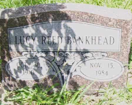 REED BANKHEAD, LUCY - Pulaski County, Arkansas | LUCY REED BANKHEAD - Arkansas Gravestone Photos