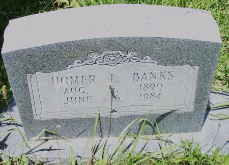 BANKS, HOMER  L. - Pulaski County, Arkansas | HOMER  L. BANKS - Arkansas Gravestone Photos
