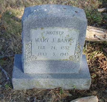 BANKS, MARY J. - Pulaski County, Arkansas | MARY J. BANKS - Arkansas Gravestone Photos