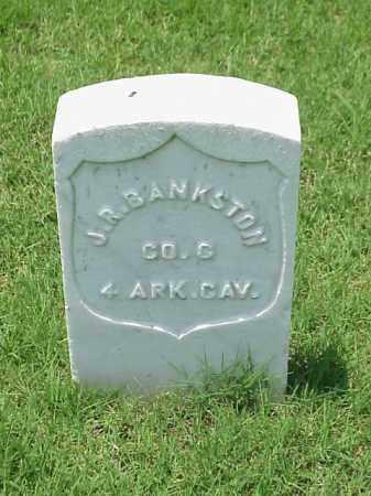 BANKSTON (VETERAN UNION), J R - Pulaski County, Arkansas   J R BANKSTON (VETERAN UNION) - Arkansas Gravestone Photos