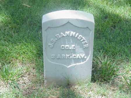 BANNISTER (VETERAN UNION), J S - Pulaski County, Arkansas   J S BANNISTER (VETERAN UNION) - Arkansas Gravestone Photos