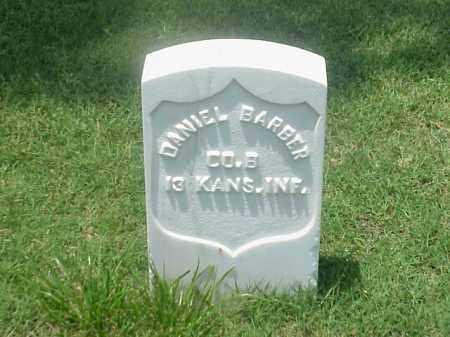 BARBER (VETERAN UNION), DANIEL - Pulaski County, Arkansas | DANIEL BARBER (VETERAN UNION) - Arkansas Gravestone Photos