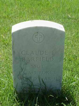BARFIELD (VETERAN WWII), CLAUDE E - Pulaski County, Arkansas | CLAUDE E BARFIELD (VETERAN WWII) - Arkansas Gravestone Photos