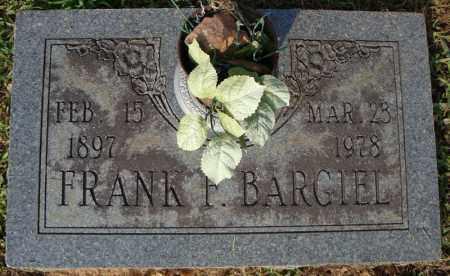 BARGIEL, FRANK F. - Pulaski County, Arkansas | FRANK F. BARGIEL - Arkansas Gravestone Photos