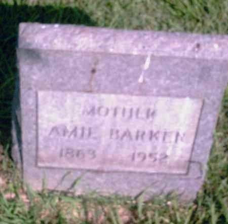 BARKER, AMIE - Pulaski County, Arkansas | AMIE BARKER - Arkansas Gravestone Photos