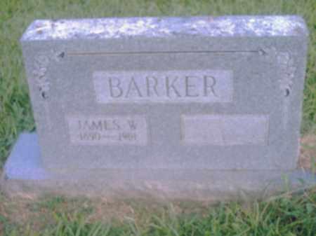 BARKER, JAMES W. - Pulaski County, Arkansas | JAMES W. BARKER - Arkansas Gravestone Photos