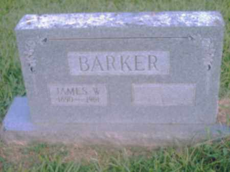 BARKER, JAMES W. - Pulaski County, Arkansas | JAMES W. BARKER - Arkansas Gravestone Photos
